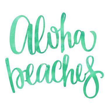 Playas de Aloha de jashirts