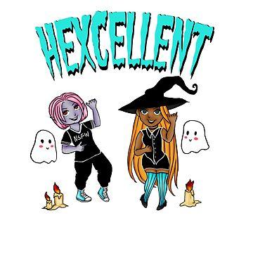 HEXCELLENT FRIENDS by CaptainSpaceout
