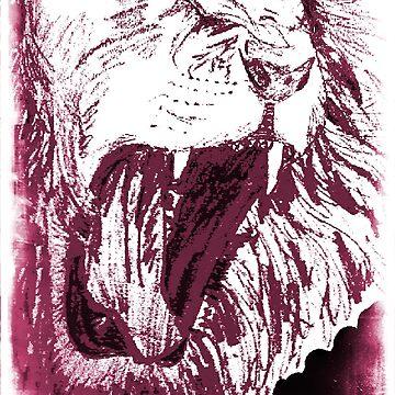 Triumphant Judah - Plum by artistwarriorlg
