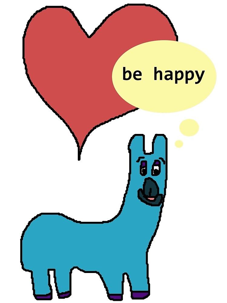 Happy Llama by LenityCreative