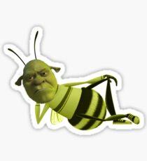Shrek the bee Sticker