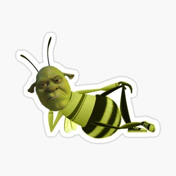 Shrek la abeja Pegatina