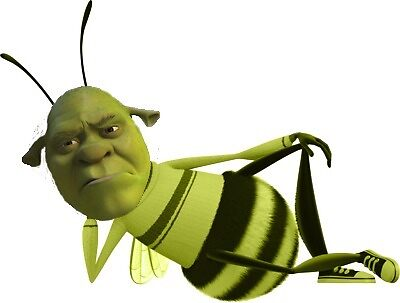 Shrek the bee by jensgill