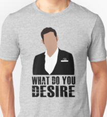 Lucifer -What do you disire Unisex T-Shirt
