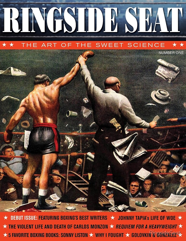 RINGSIDE SEAT #1 Cover by RingsideSeat