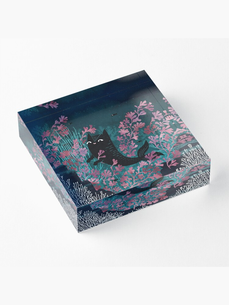 Alternate view of Undersea Acrylic Block
