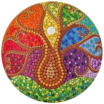 Tree of Life - Dot art by mandalaole