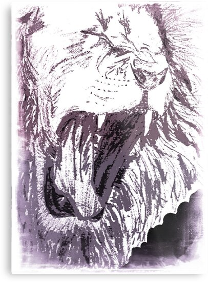 Triumphant Judah - Dark Purple by artistwarriorlg