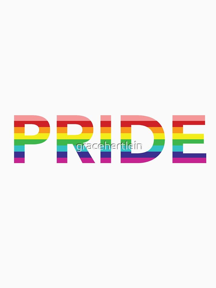 Pride by gracehertlein