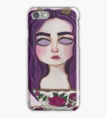 Peach tea iPhone Case/Skin