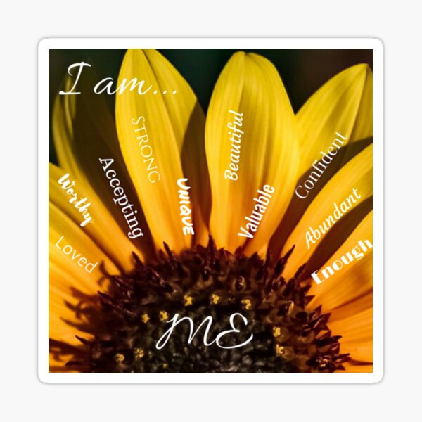 I am...ME Sticker