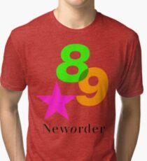 Joy Division New Order tour shirt 1989 Technique  Tri-blend T-Shirt