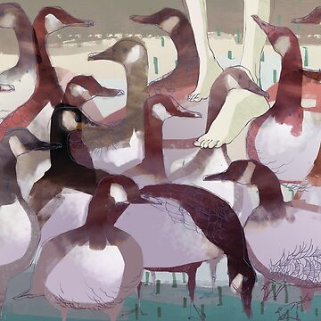 Waddle - Walking with Geese by kate-chesterton