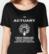 ACTUARY DEFINITION Women's Relaxed Fit T-Shirt