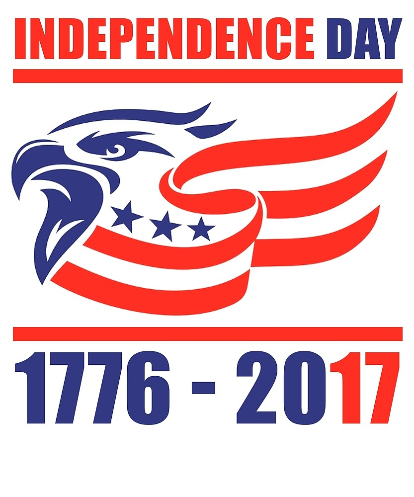 In God We Trust USA Independence Day 4th of July TShirt 1776-2017 by sondinh