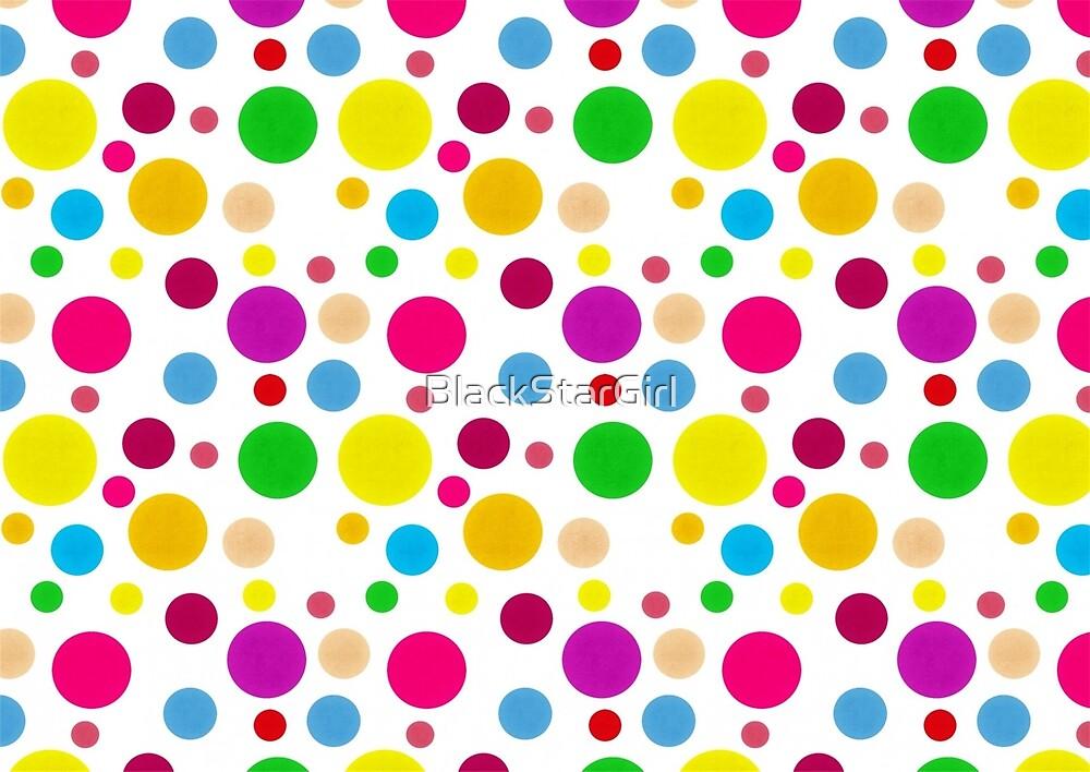 Colorful Spots by BlackStarGirl