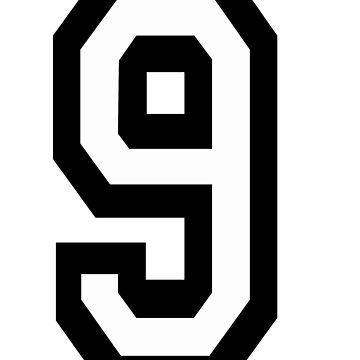 9, TEAM, SPORTS, NUMBER 9, NINE, NINTH, competition by TOMSREDBUBBLE