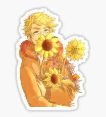 Pegatina kenny mccormick con flores