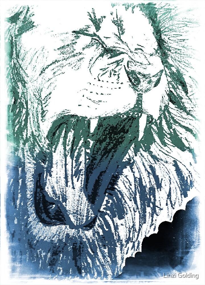 Triumphant Judah - Blue Green by artistwarriorlg