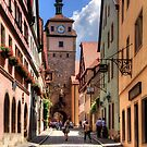 White Tower Rothenburg by Tom Gomez