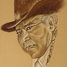Tohono O'odham Cowboy by Linda Sparks