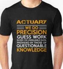 ACTUARY MIRACLE JOB Unisex T-Shirt
