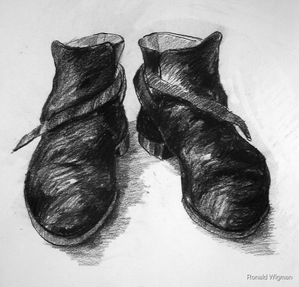 Shoe portrait 03 by Ronald Wigman