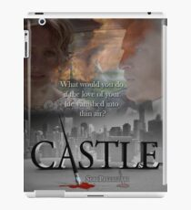 What would you do if the love of your life vanished into thin air? #Castle iPad Case/Skin