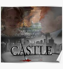 What would you do if the love of your life vanished into thin air? #Castle Poster