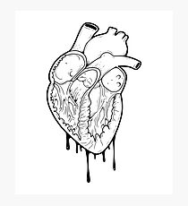 Empty Heart Photographic Print