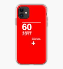 60th Anniversary  Helvetica Typeface iPhone Case