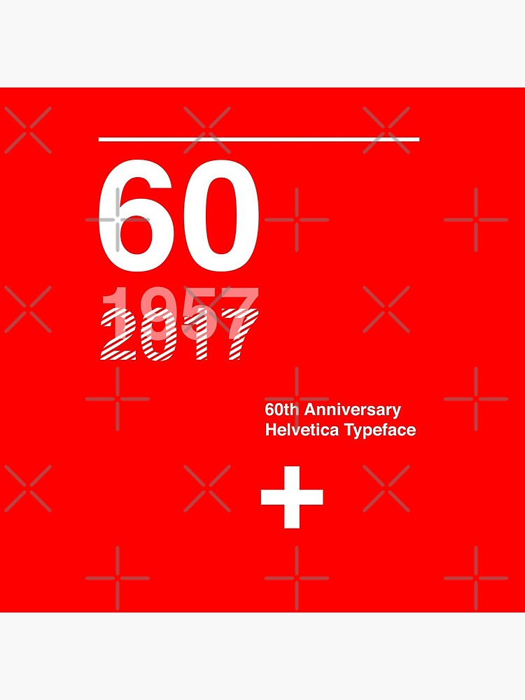 60th Anniversary  Helvetica Typeface by sub88