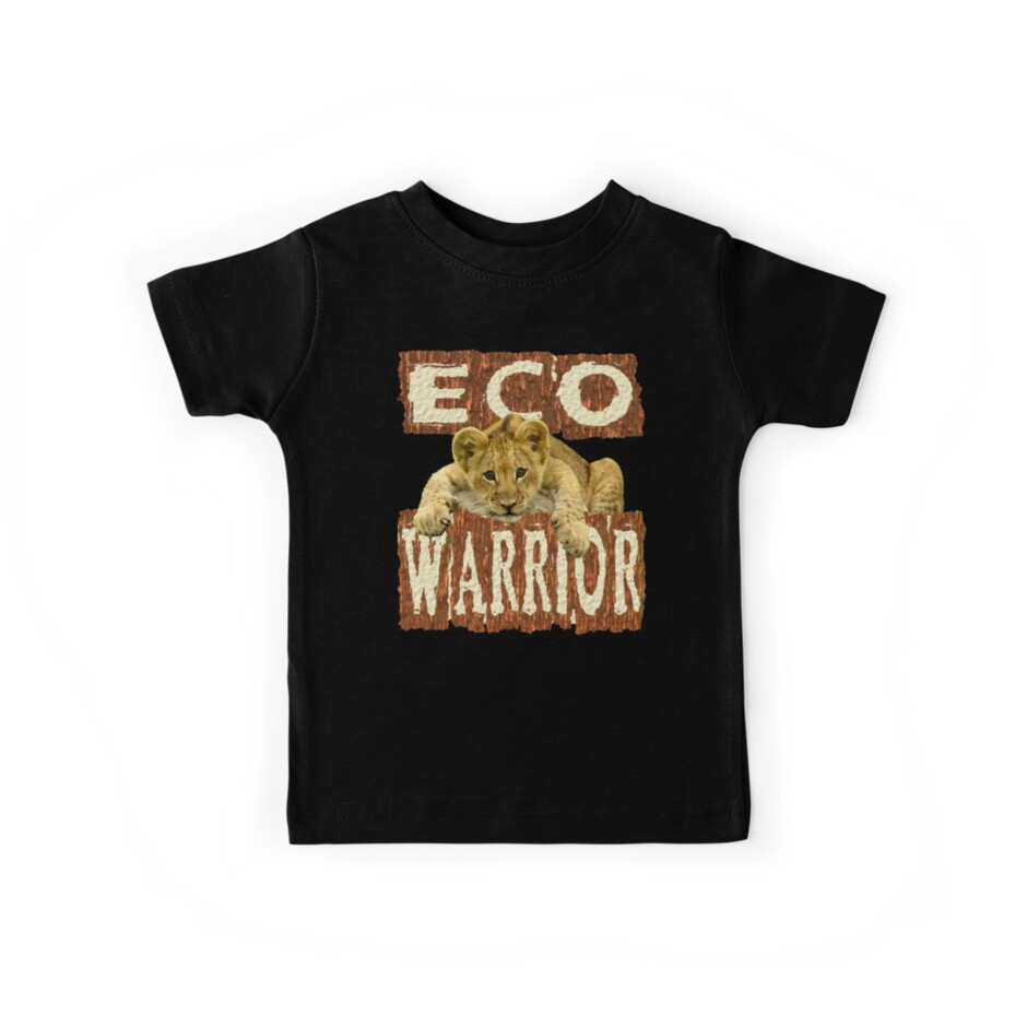 ECO WARRIOR- LION design by Paparaw