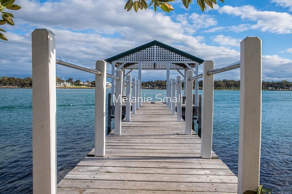 The Pen Boat House Mandurah Western Australia by Melanie Small