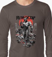 RoboCop - Graphic Novee Style Long Sleeve T-Shirt