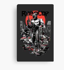RoboCop - Graphic Novee Style Canvas Print
