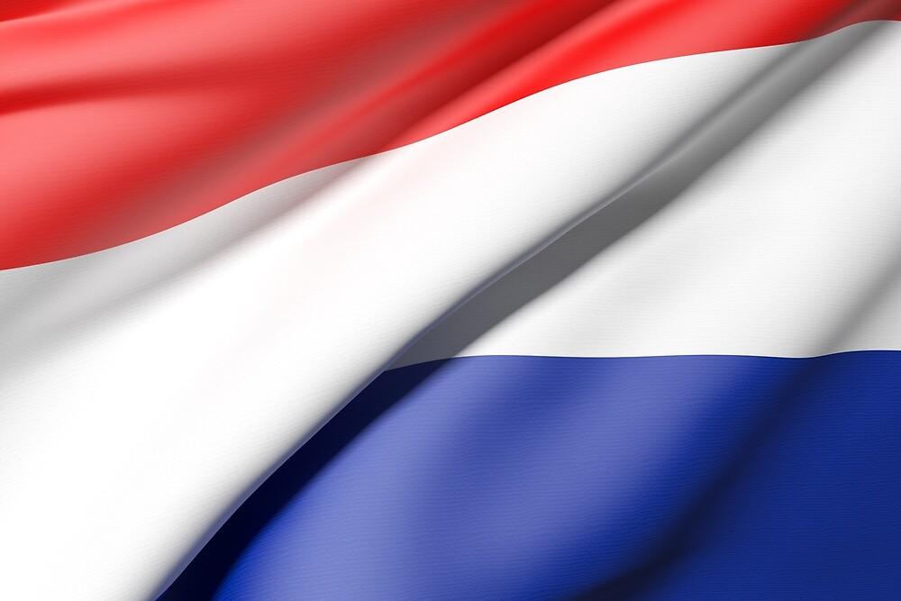 Netherlands flag by erllre74