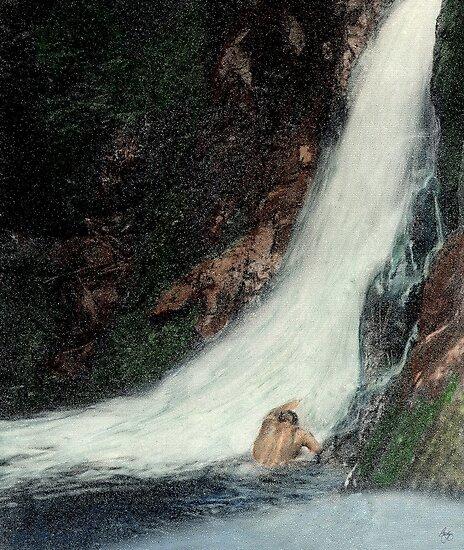 Welton Falls Mindscape by Wayne King