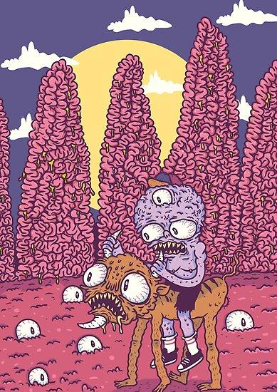 BrainyPlanet by spookyhex