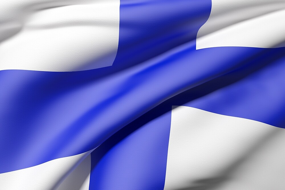 Finland flag by erllre74