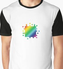 Bitmap Rainbow Graphic T-Shirt