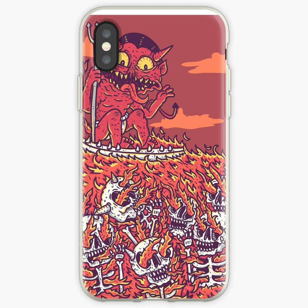 hellsurf iPhone Case & Cover