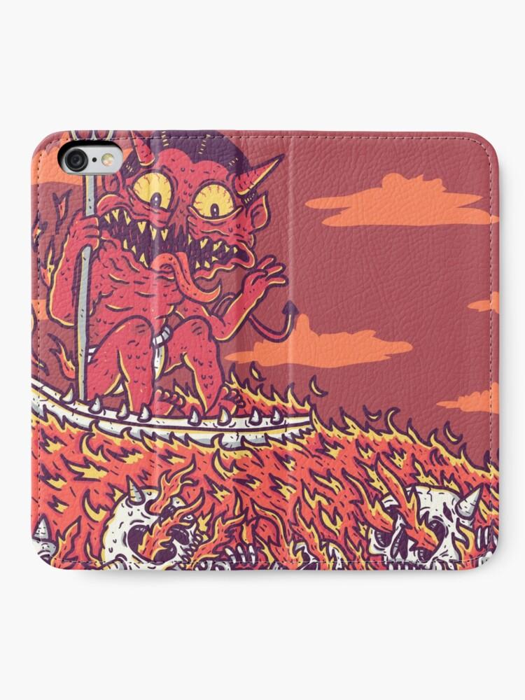Alternate view of hellsurf iPhone Wallet