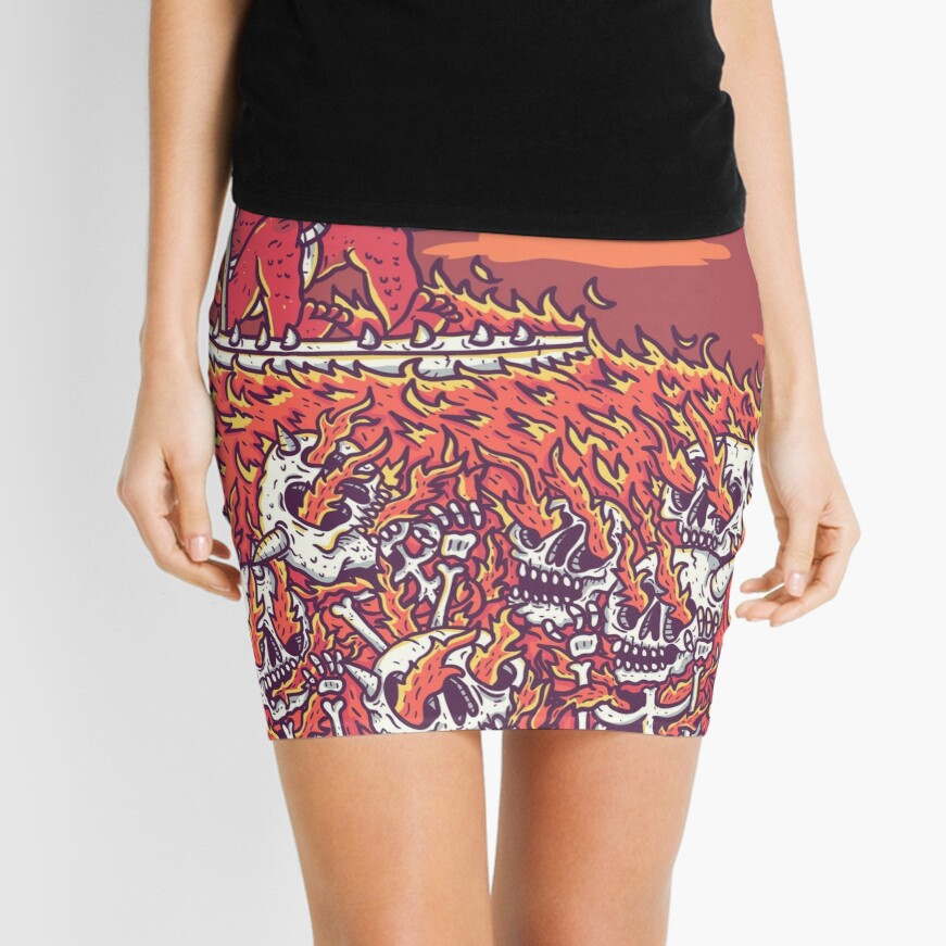 hellsurf Mini Skirt
