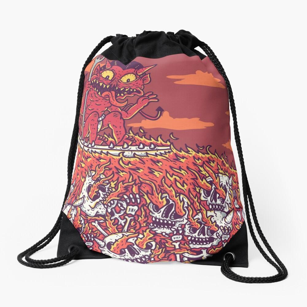 hellsurf Drawstring Bag