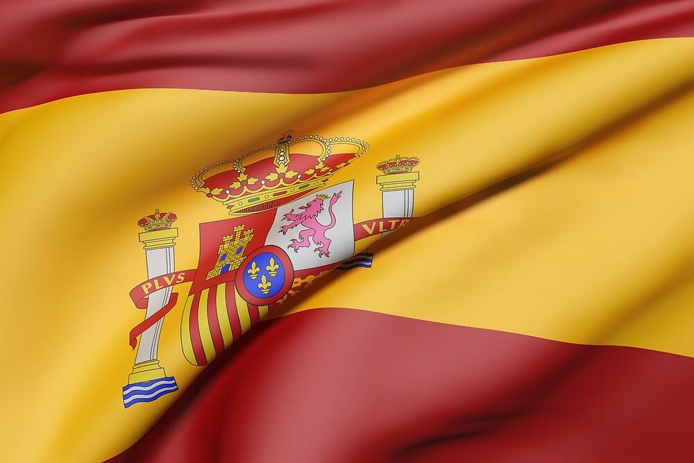 Spain flag by erllre74