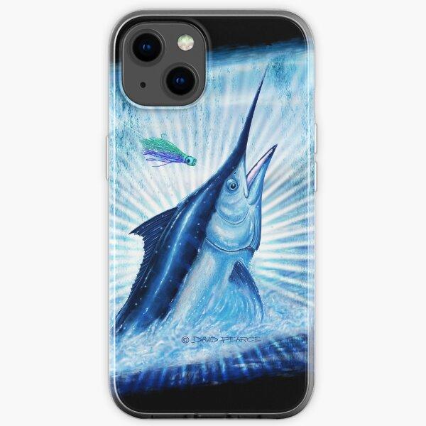 BLACK MAGIC - Black Marlin iPhone Soft Case