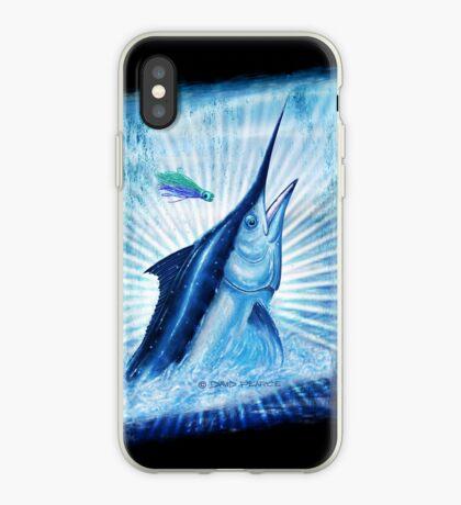 BLACK MAGIC - Black Marlin iPhone Case
