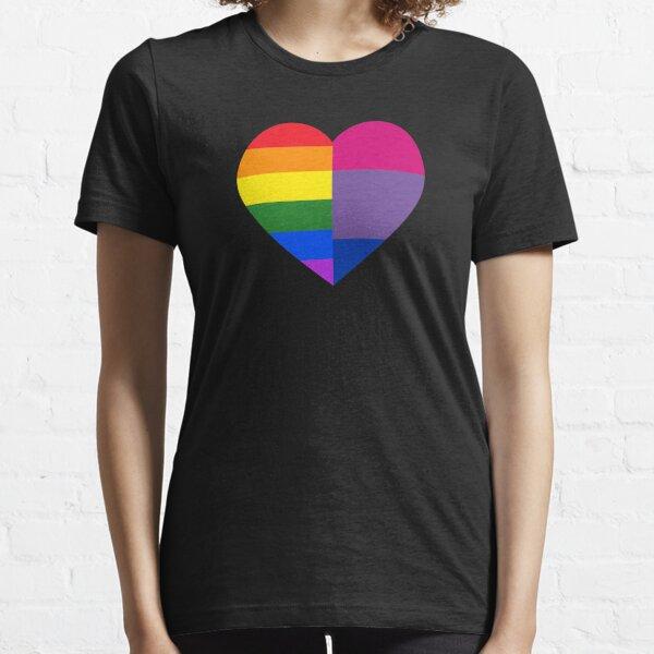 Orgullo Gay Bandera Envejecido Para hombres Camiseta Top Arco Iris LGBT Regalo Ropa Ropa