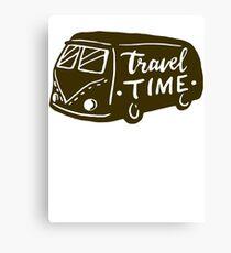Travel time Canvas Print